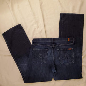 7 For All Mankind Jeans - 7 For All Mankind 'A-Pocket' Relaxed Fit Jeans